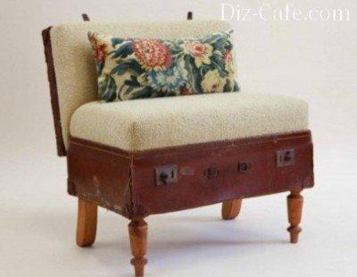 Кресло из чемодана