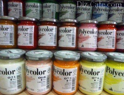 Итальянские краски Поликолор