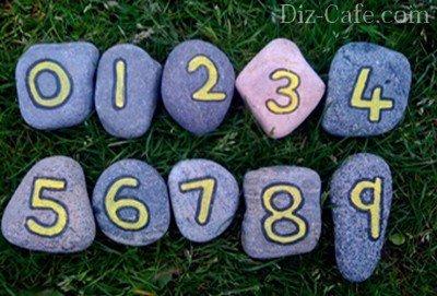 Цифры на камнях