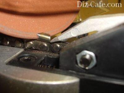 Заточить цепь для электропилы