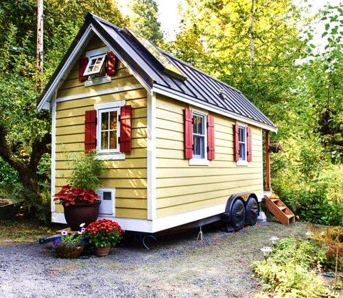 Проект маленького дачного домика своими руками