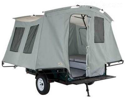 Прицеп-палатка внутри