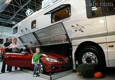 Автодом с гаражом