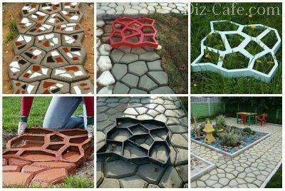 как приготовить цементный раствор для дорожек