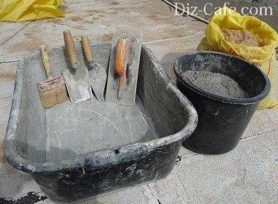 Инструмент для приготовления раствора