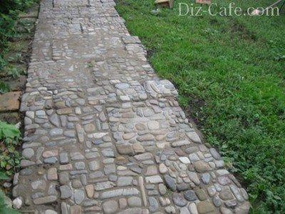 Правильный цементный раствор для дорожек бетон экспресс отзывы