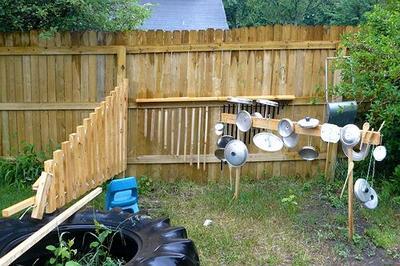 Шумовые инструменты из подручных средств