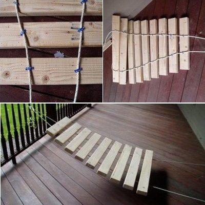 Ксилофон из деревянных брусков