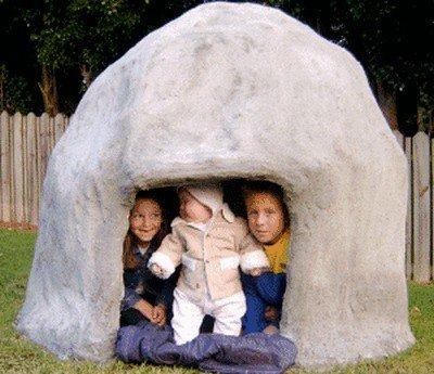 Каменная пещера «эльфов»