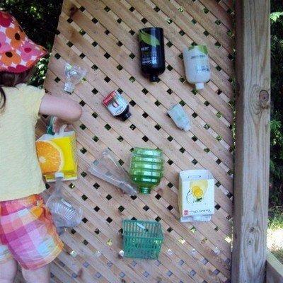 Шпалера – отличная основа для водопроводного лабиринта