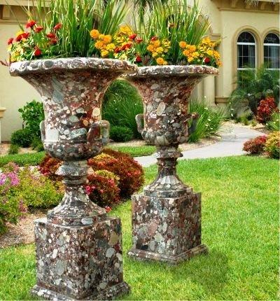 Как сделать уличную вазу для цветов своими руками 151
