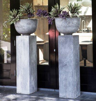вазы в стиле хай-тек
