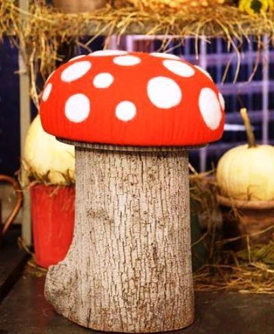 Стулья-грибы
