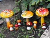 Грибные полянки на участке: использование живых грибов в дизайне и мастер-класс по созданию искусственных