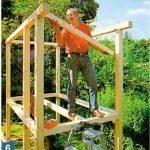Сооружение каркасного домика