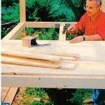 Строительство каркасного домика