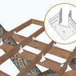Соединения элементов металлическими деталями
