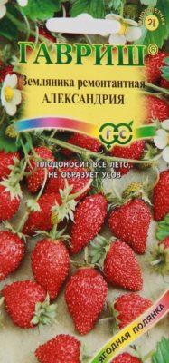 Семена земляники Александрия