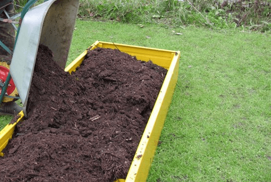 Создание плодородной грядки для клубники