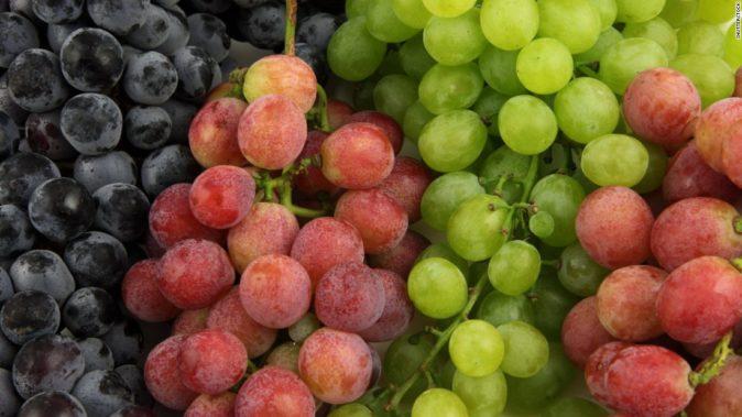 Основные цвета ягод винограда