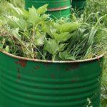 Настой садовых трав