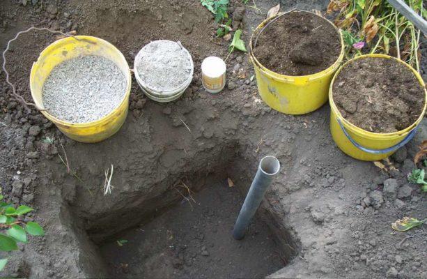 Компоненты почвосмеси