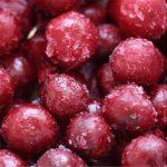 Замороженные плоды вишни
