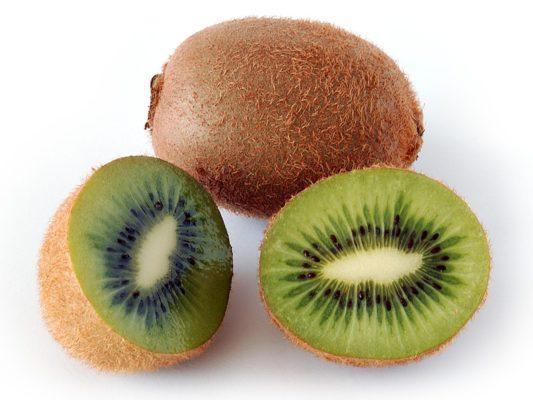 Плод киви в разрезе