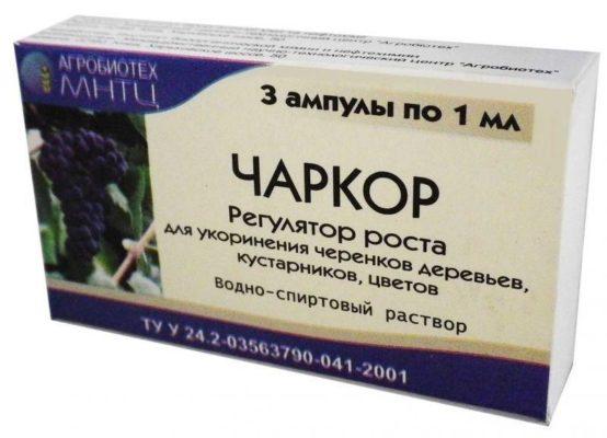 Упаковка препарата Чаркор