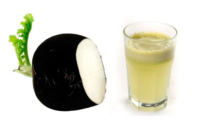 Сок чёрной редьки