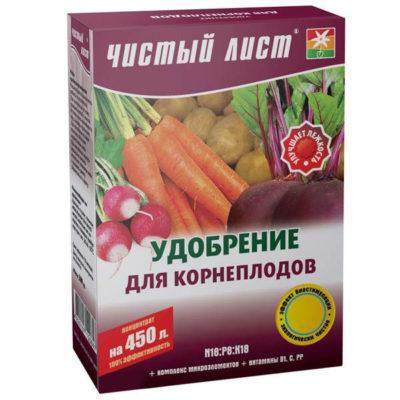 Удобрение для корнеплодов