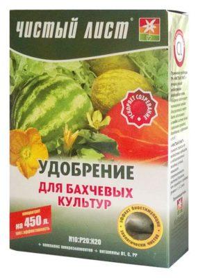 Удобрение для арбуза