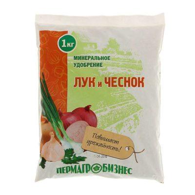 Специализированное удобрение для лука и чеснока