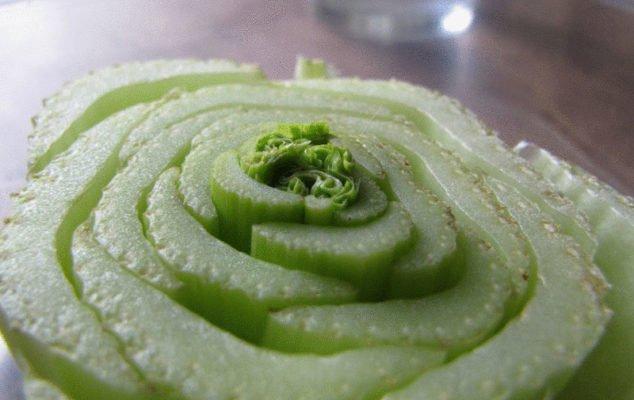Новая зелень из «кочерыжки» китайской капусты