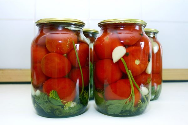 Маринованные томаты Санька