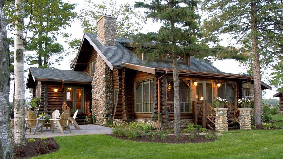 деревянный дом в саду фото самом деле альберто