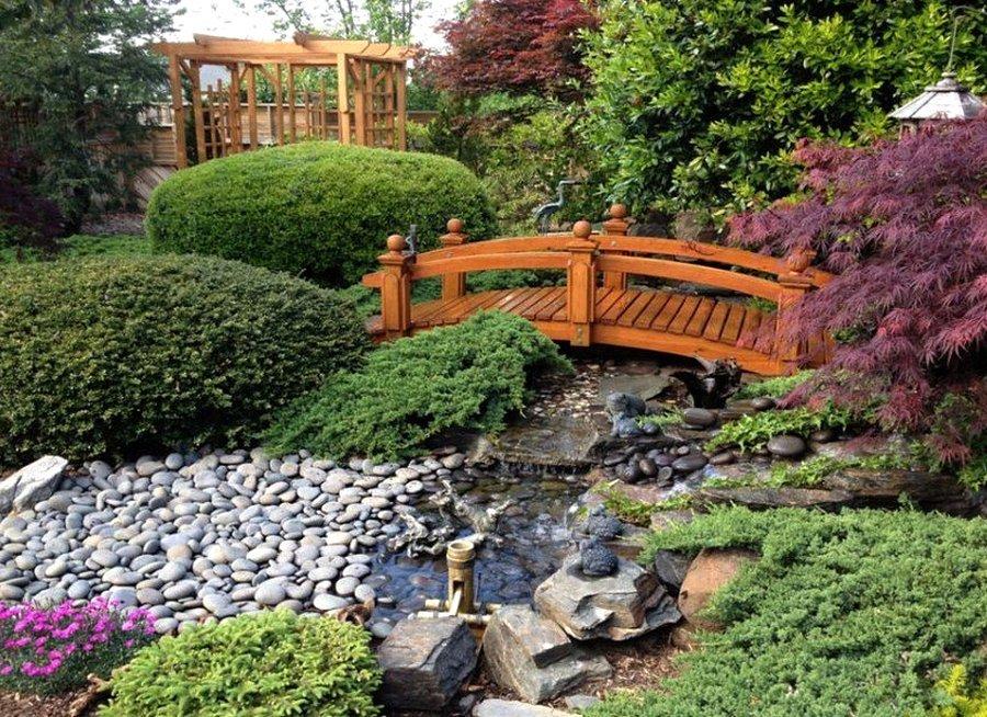 своему картинки мостика садового участка чтобы все