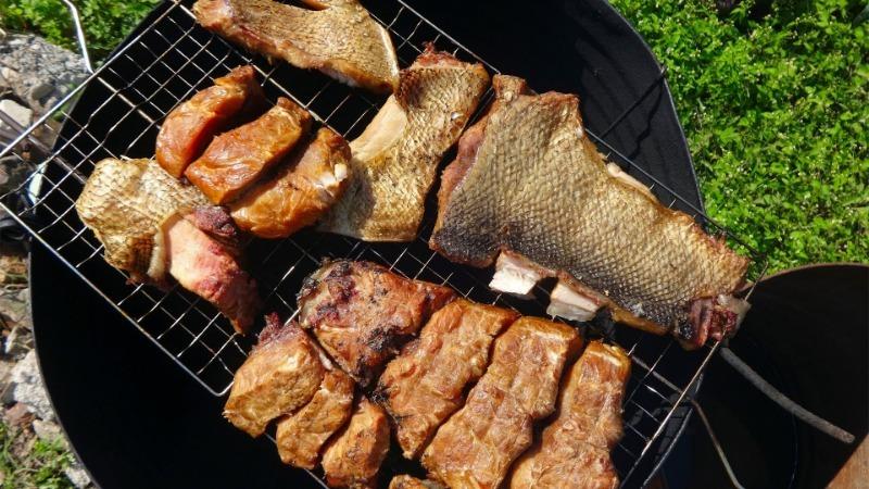 Опилки для копчения рыбы - Здоровое питание